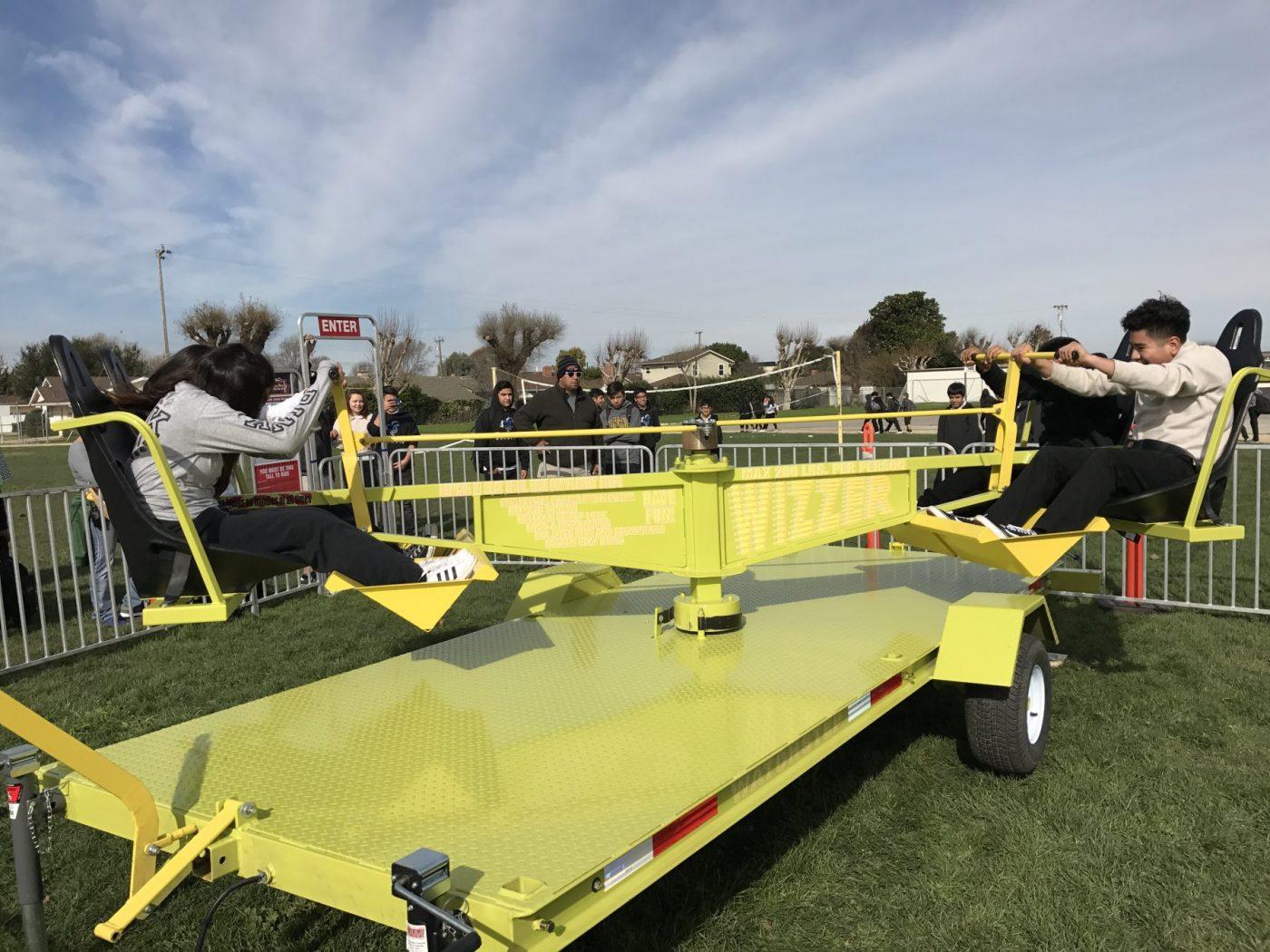 Wizzer Carnival Ride Rental San Jose California
