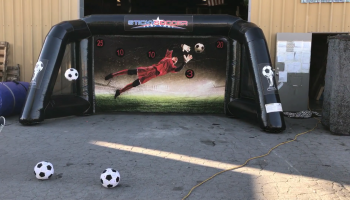 Inflatable Foot Dart Soccer Game