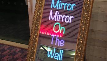 Selfie Mirror Me Photo Booth Rental