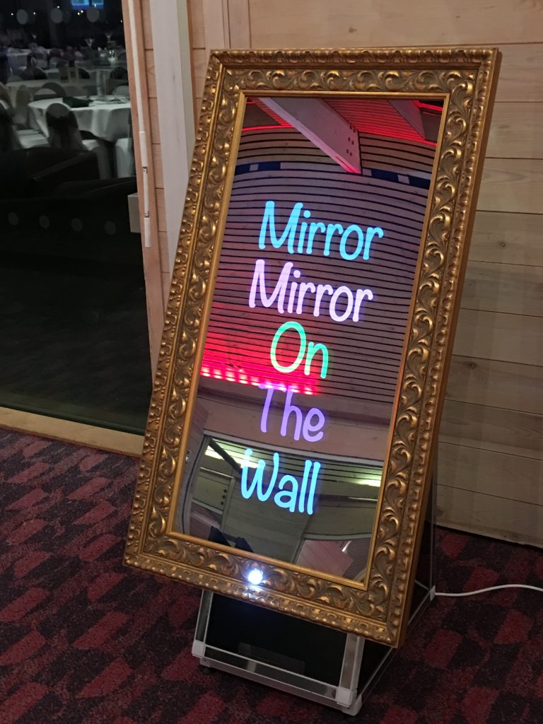 Selfie Mirror Phto Booth Rental San Francisco
