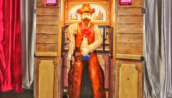 Western Quick Draw Shooting Gallery Game Rental