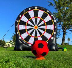 Giant Size Soccer Dart Game Rental San Francisco