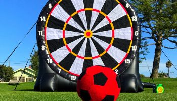 Giant Velcro Soccer Dart Game Rental