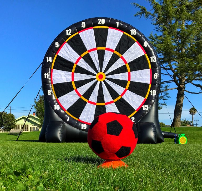 Giant Size Soccer Dart Game Rental San Francisco