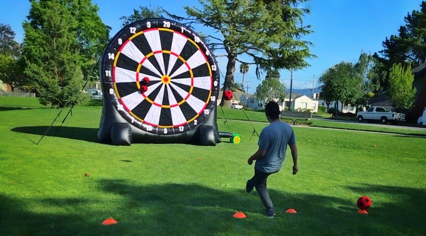 Giant Soccer Kick Game Rental Bay Area