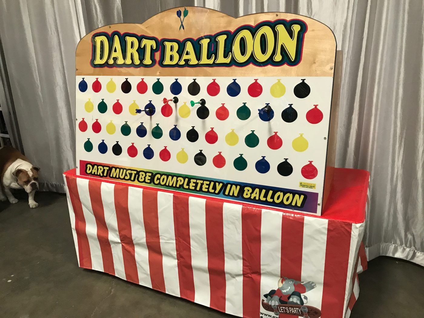 Giant Balloon Dart Game Rental