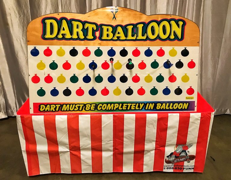 Giant Suction Dart Balloon Game Rental