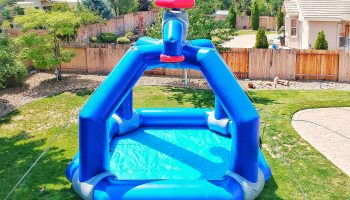 Inflatable Water Splasher Game Rental