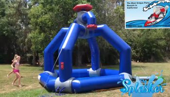 Inflatable Water Splasher Game Rental California