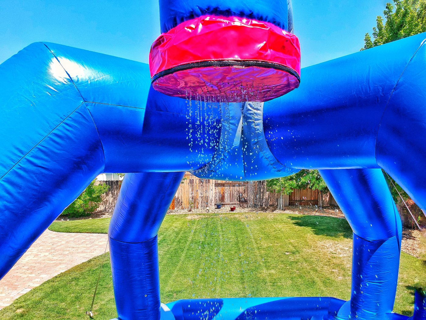 Inflatable Water Splasher Game Rental San Jose California