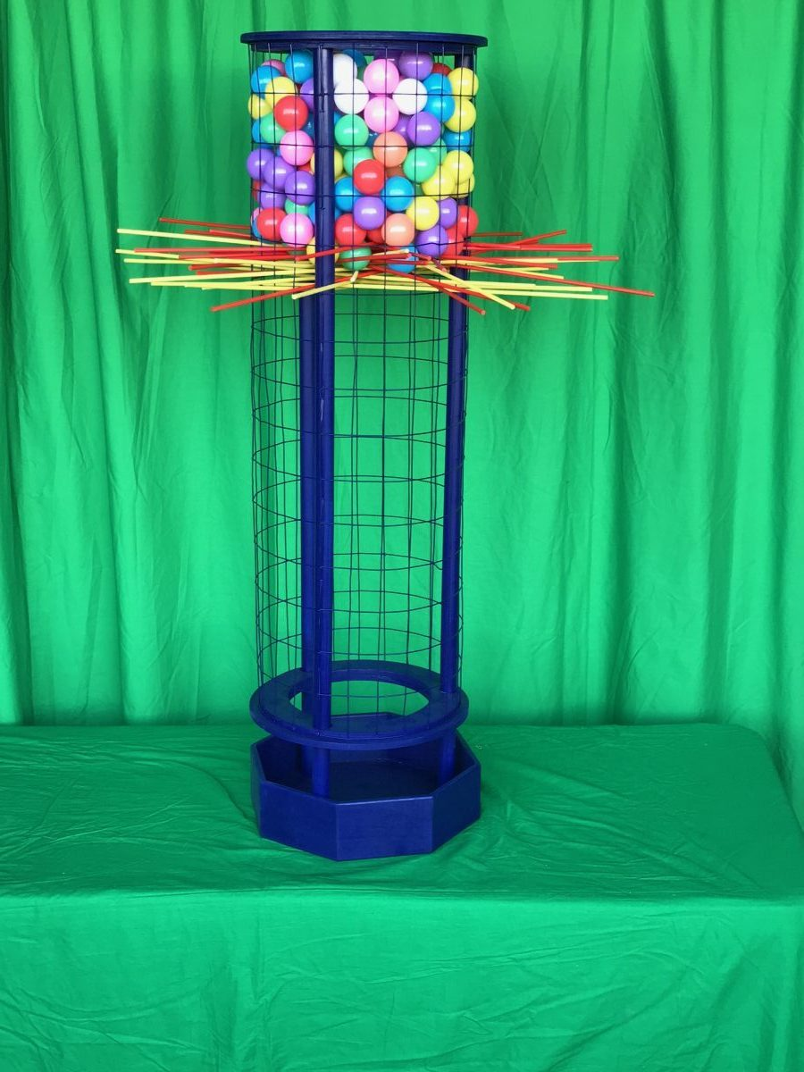 Giant Kerplunk Game Rental Bay Area