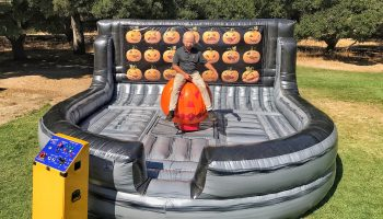 Bay Area Halloween Mechanical Bull Pumpkin Ride
