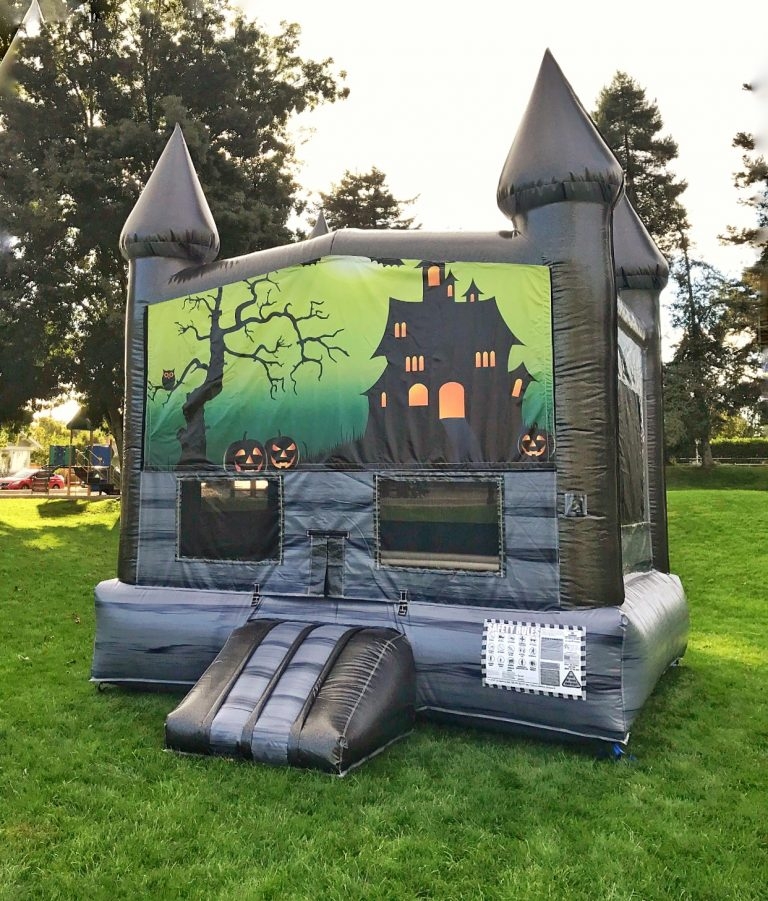 Halloween Haunted Mansion Bounce House Rental San Francisco