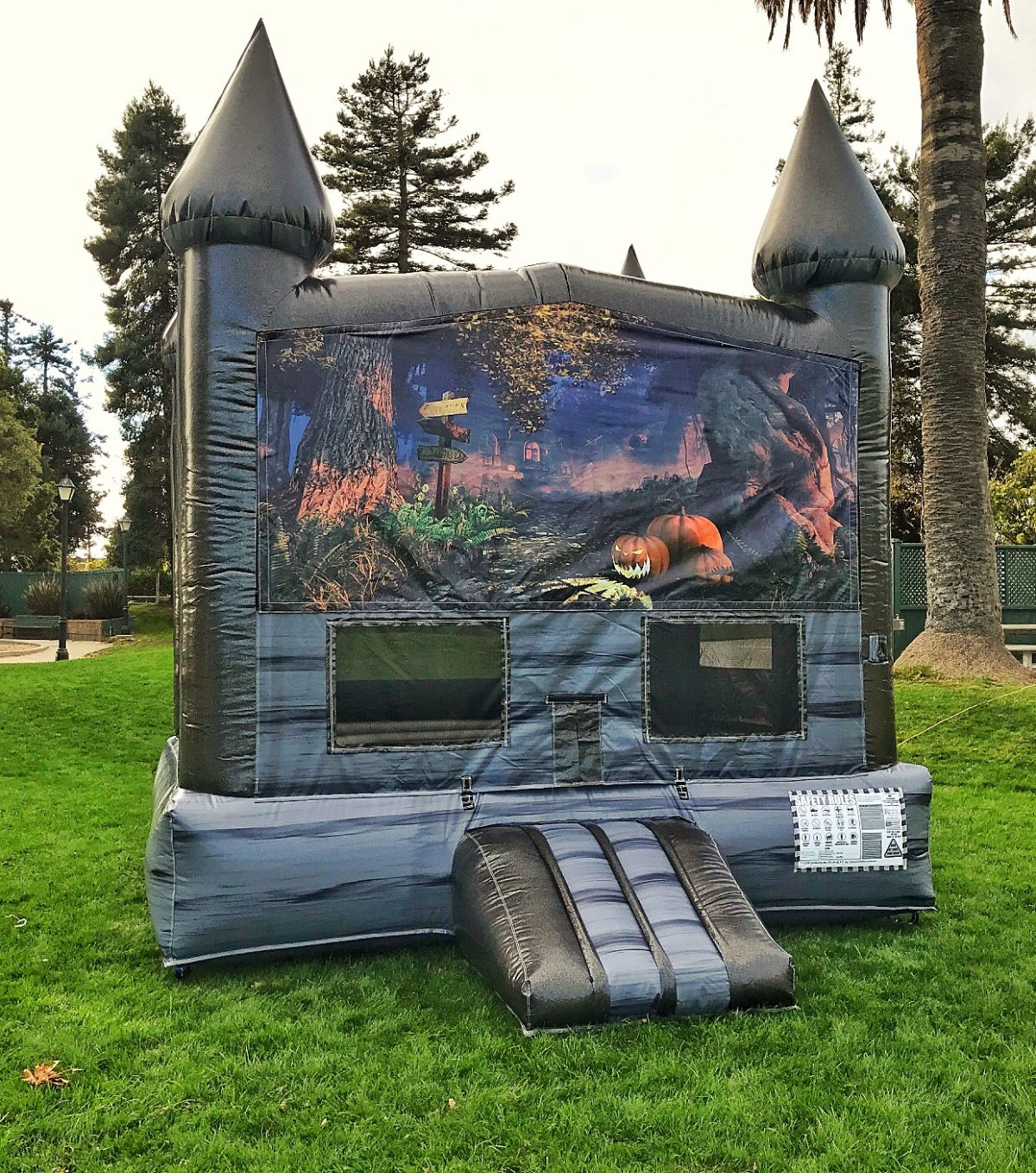 halloween haunted mansion bounce house rental california