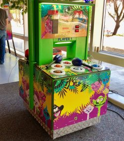 Whack a monster arcade game rental