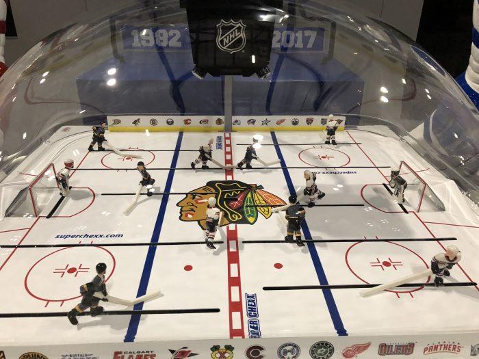 Bubble Hockey Arcade Game