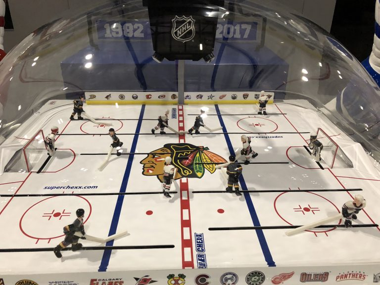 Bubble Hockey Arcade Game