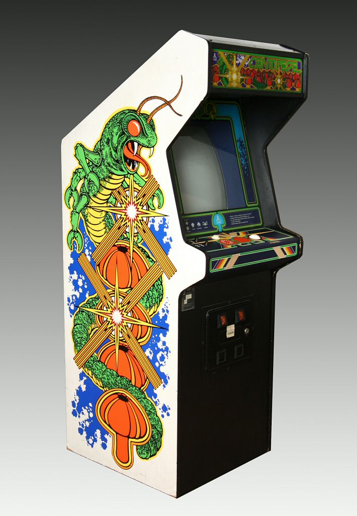 Centipede Video Arcade Game