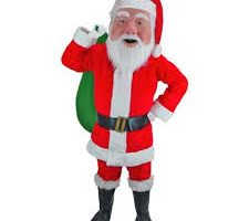 Santa Claus Costume Rental Bay Area