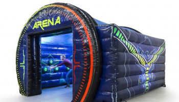 Tag The Light Inflatable Interactive Arena Game