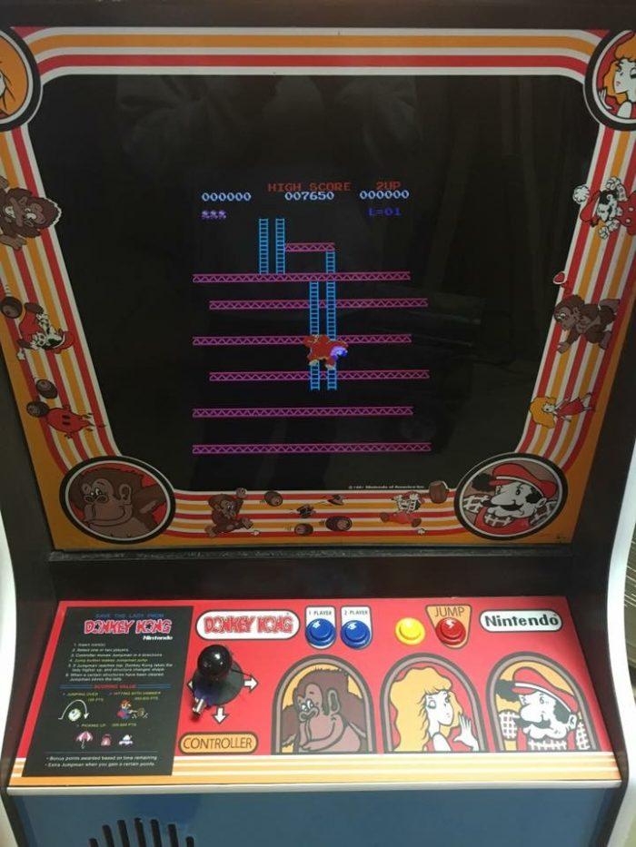 Donkey Kong Arcade Game Rental San Jose