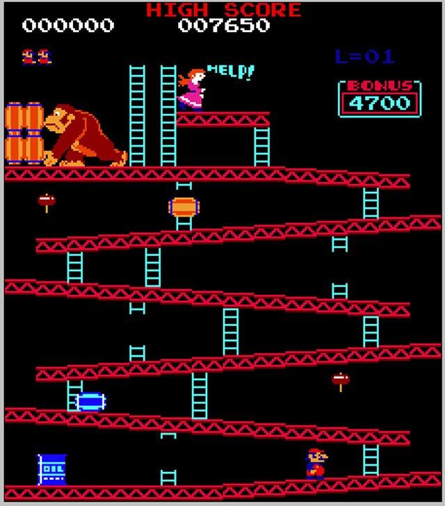 Donkey Kong Video Game Rental San Francisco