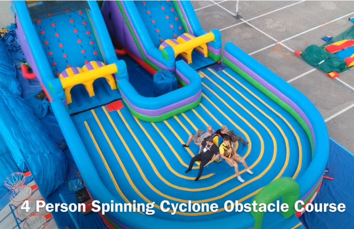 cyclone spinning obstacle course carnival ride san francisco bay area carnival ride rentals. Black Bedroom Furniture Sets. Home Design Ideas