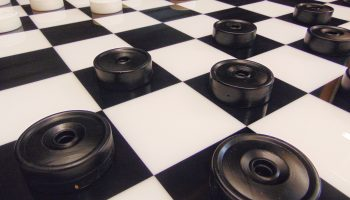 Giant LED Checkers Game Rental