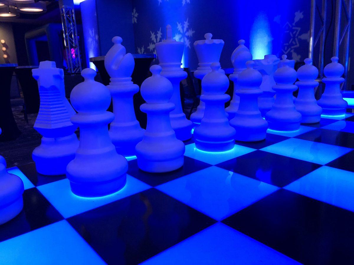 Giant Chess Rental San Jose