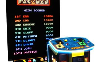 Pac Man Video Game Rental San Jose