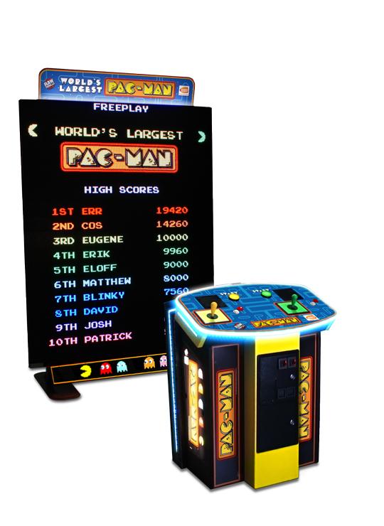 Pac Man Video Game Rental San Jose