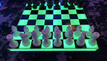 LED Chess Table Rental