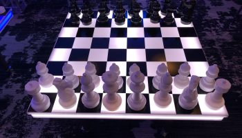 Giant LED Chess Game Rental