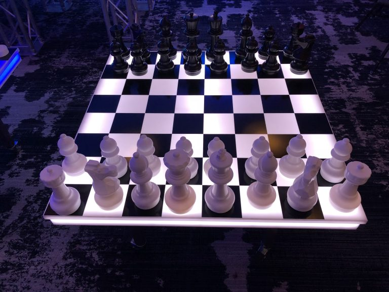 Giant LED Chess Board