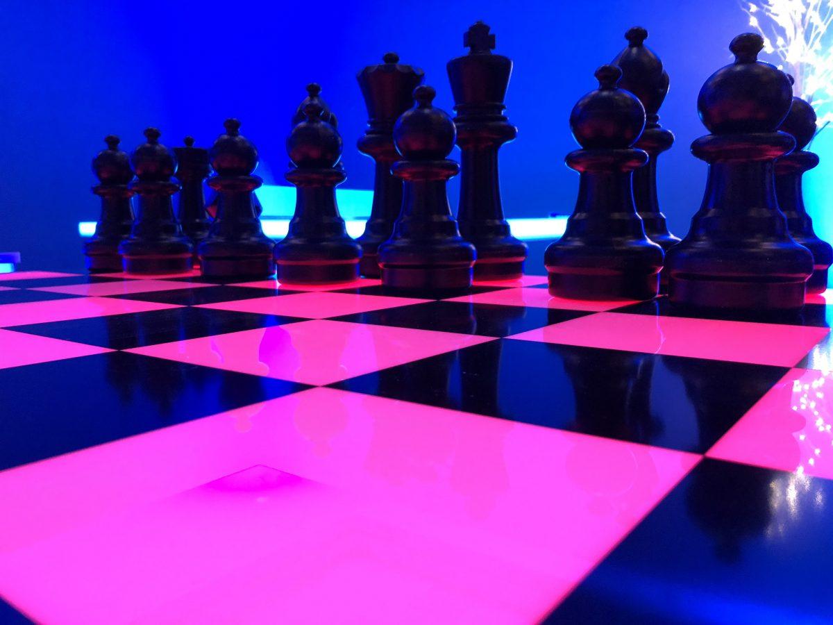 Chess Game Rental California