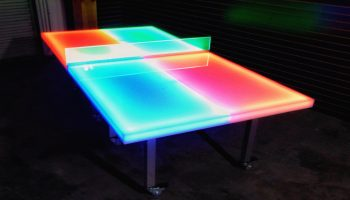 LED Ping Pong Game Rental 4 x 8
