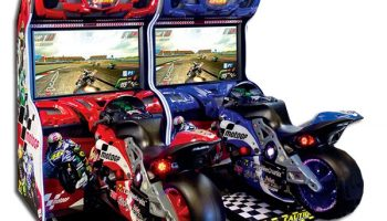 Driving Arcade Game Rental California