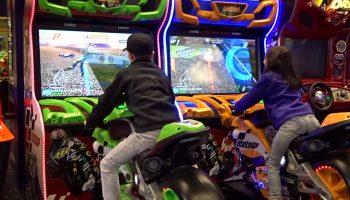 Motorcycle Arcade Game Rental San Francisco Bay Area