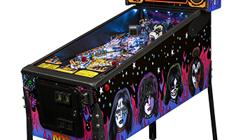 Kiss Pinball Machine Rental