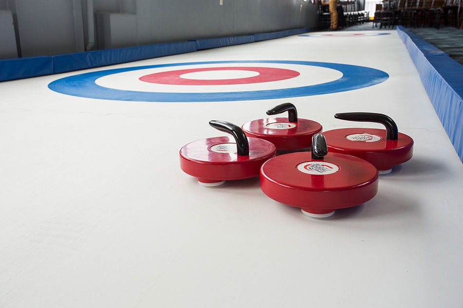 Olympic Ice Curling Event Rental