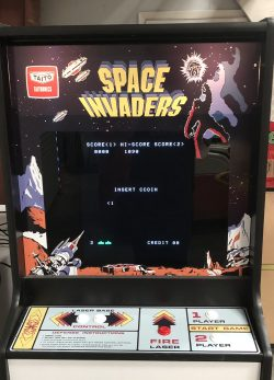 "Space Invaders 80""s Arcade Game Rental"