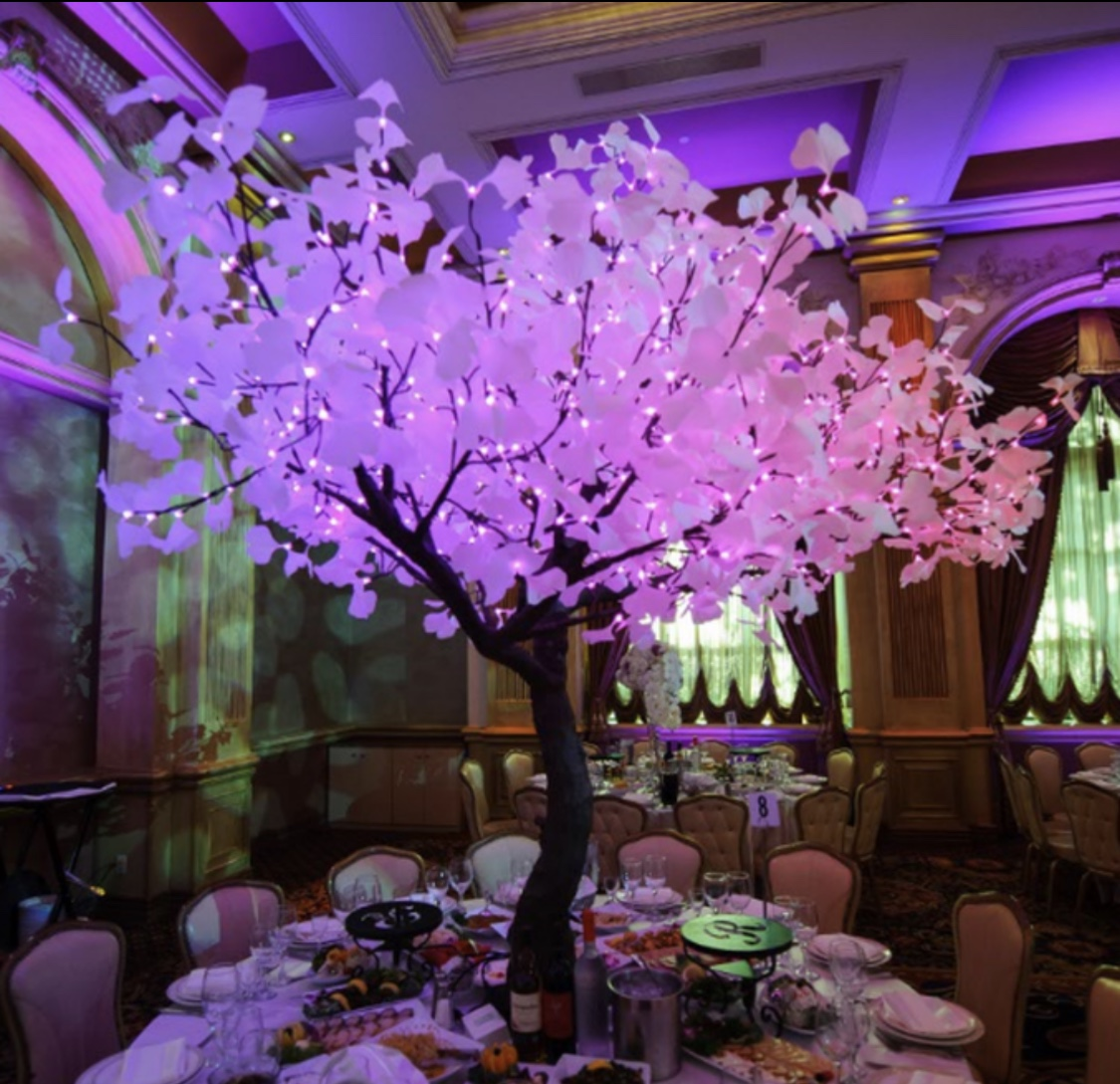 Rental Rentals: Lighted Trees Event Rentals/ Led Glowing Lighted Tree