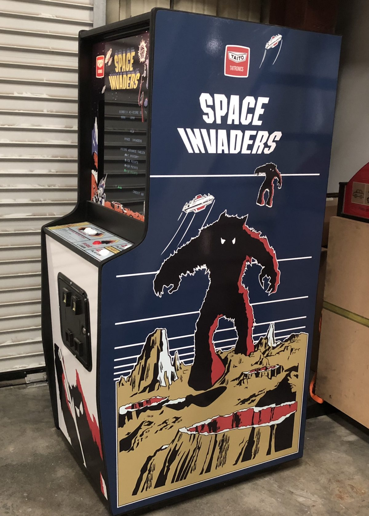 Space Invaders Game Rental San Francisco