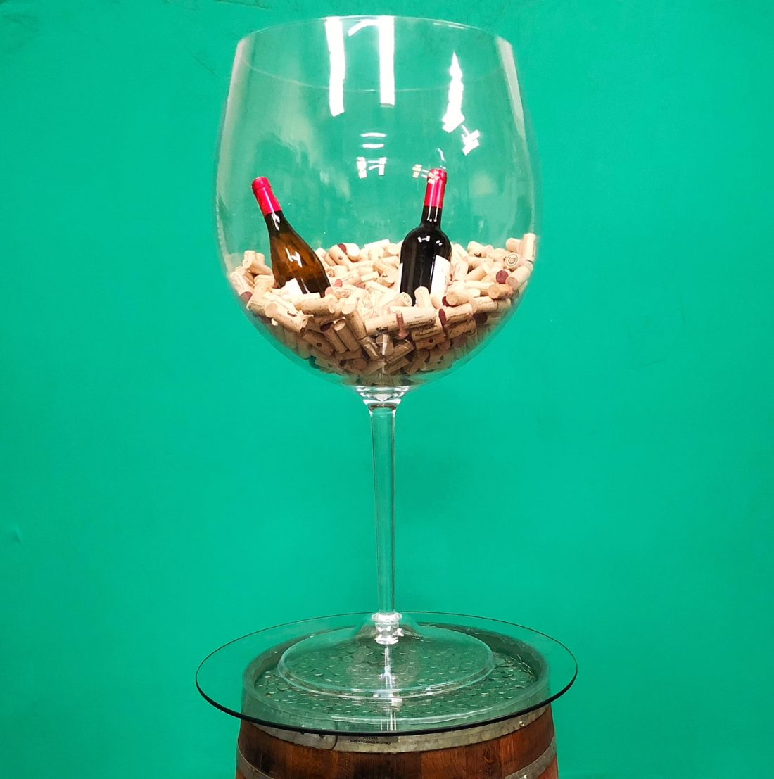 Large Wine Glass Rental San Francisco Bay Area