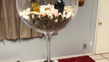 Large Wine Glass Decoration Prop Rental