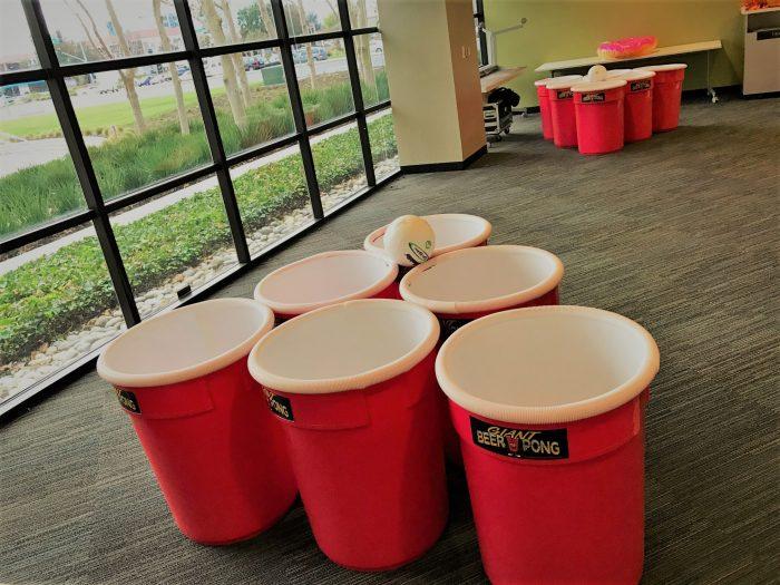 Giant Beer Pong Game Rentals