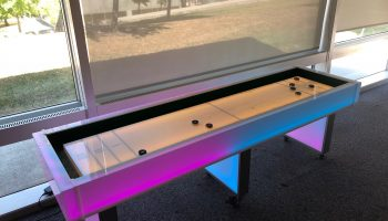 Lighted led shuffleboard game rental San Francisco