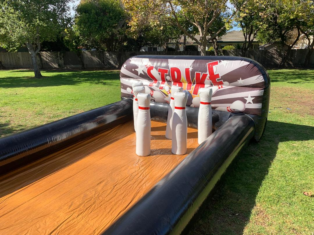 Inflatable Bowling game rental Santa Clara