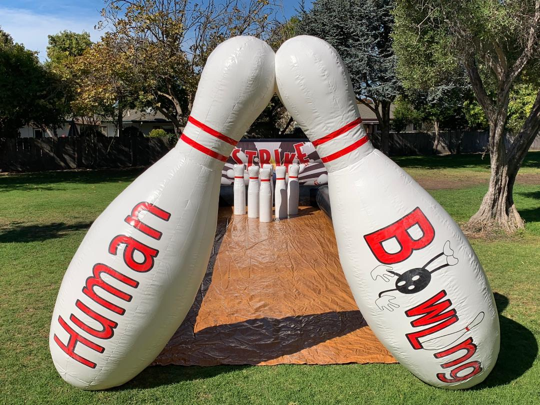 Inflatable Human Bowling Rental