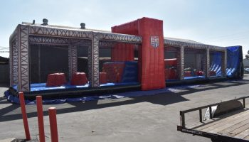 ninja warrior obstacle course rental